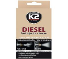 K2 DIESEL Fuel Injector Cleaner 50 ml