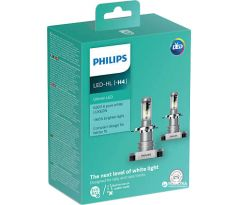 LED H4 PHILIPS 11342ULWX2  Ultinon 12V žiarovka Set 2 ks