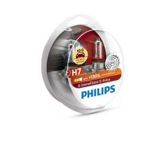 Philips H7 PX26d 12V 55W  X-tremeVision G-FORCE +130%   -2 ks